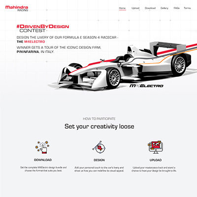 Mahindra Racing Driven by Design 3.0